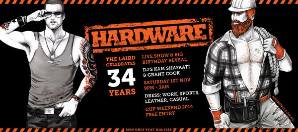 hardware laird birthday cup weekend 2014