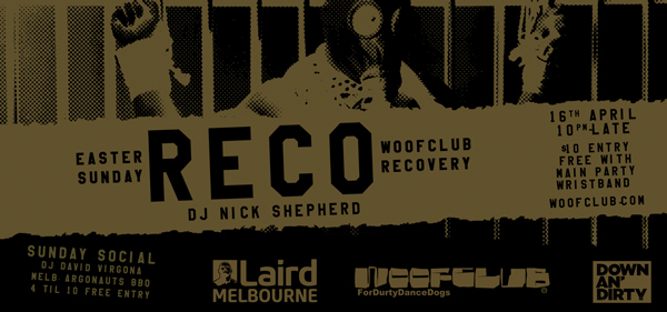 reco woffclub melbourne recovery easter leather