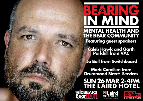 laird  gay melbourne bear vicbears down dirty vac health