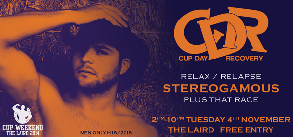 melbourne cup day recovery gay laird 2014